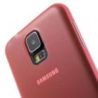 Ploniausias pasaulyje raudonas Samsung Galaxy S5 (S5 Neo) dėklas (dėkliukas)