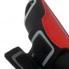 Dėklas sportui (raištis ant rankos) - raudonas, universalus (L+ dydis)