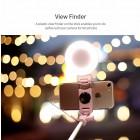 """""""Rock"""" Lightning Light teleskopinė asmenukių (selfie) auksinė fotogravimo lazda (laikiklis) - monopod"""