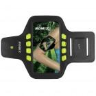 """""""Romix"""" Led dėklas sportui (raištis ant rankos) - juodas, universalus (L dydis)"""