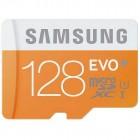 """""""Samsung"""" Evo MicroSD atminties kortelė 128 Gb, 10 Klasė su SD adapteriu"""