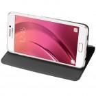 """""""Dux Ducis"""" Skin serijos Samsung Galaxy A5 2017 (A520) juodas odinis atverčiamas dėklas"""