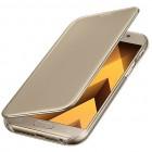 Samsung Galaxy A5 (2016) A520 originalus Clear View Cover atverčiamas auksinis dėklas