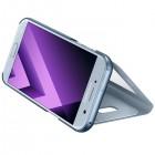 Samsung Galaxy A5 (2017) A520 originalus S View Cover atverčiamas šviesiai mėlynas dėklas su langeliu