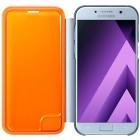 Samsung Galaxy A5 (2017) A520 originaluSamsung Galaxy A5 (2017) A520 originalus Neon Flip Cover EF-FA520 atverčiamas šviesiai mėlynas odinis dėklas - piniginės Neon Flip Cover EF-FA520 atverčiamas baltas odinis dėklas - piniginė