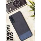 """""""Fashion"""" Samsung Galaxy A50 (A505F) mėlynas kieto siliko dėklas"""