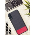"""Fashion"" Samsung Galaxy A50 (A505F) pilkas kieto siliko dėklas"