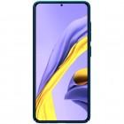Samsung Galaxy A51 (A515F) Nillkin Frosted Shield mėlynas plastikinis dėklas