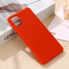 Samsung Galaxy A71 (A715F) Shell kieto silikono TPU raudonas dėklas - nugarėlė