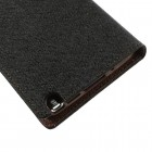 """Mercury"" Fancy Samsung Galaxy Note 3 (N9005, N9002, N9000) juodas odinis dėklas"
