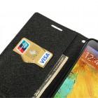 """Mercury"" Fancy Samsung Galaxy Note 3 (N9005, N9002, N9000) rudas odinis dėklas"