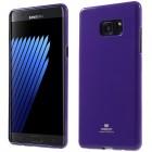 Samsung Galaxy Note 7 (N930) Mercury violetinis kieto silikono tpu dėklas - nugarėlė