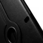 Samsung Galaxy Note Pro 12.2 P905 atverčiamas juodas odinis dėklas, sukiojamas 360°