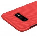 """Samsung Galaxy S10e (G970) """"Lenuo"""" kieto silikono TPU raudonas dėklas - nugarėlė"""