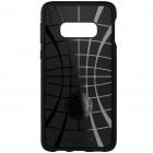 """Spigen"" Liquid Air Samsung Galaxy S10e (G970) juodas kieto silikono dėklas"