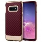 """""""Spigen"""" Neo Hybrid sustiprintos apsaugos Samsung Galaxy S10e (G970) bordo kieto silikono (TPU) ir plastiko dėklas"""