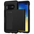 """Spigen"" Slim Armor CS Samsung Galaxy S10e (G970) juodas kieto silikono dėklas"