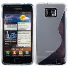 Samsung Galaxy S2 i9100 skaidrus silikoninis TPU dėklas (dėkliukas, nugarėlė)