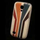 """""""Bullet"""" Samsung Galaxy S4 mini i9195 kieto silikono TPU dėklas - Striped (Dryžuotas)"""