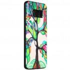 """""""My Colors"""" Samsung Galaxy S8 (G950) spalvotas kieto silikono (TPU) dėklas Tree"""