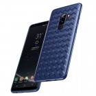 """""""Baseus"""" Weaving Samsung Galaxy S9 (G960) mėlynas kieto silikono dėklas"""