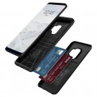 """Spigen"" Slim Armor CS Samsung Galaxy S9 (G960) juodas kieto silikono dėklas"