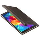 Originalus Samsung Galaxy Tab S 8.4 (T705, T700) Book Cover atverčiamas bronzinis odinis dėklas
