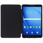 Samsung Galaxy Tab A 10.1 2016 (T580, T585) klasikinis atverčiamas juodas odinis dėklas