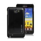Šlifuoto metalo juodas Samsung Galaxy Note i9220, N7000 dėklas (dėkliukas)