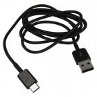 Samsung Type-C USB EP-DG970BBE juodas laidas 1 m. (originalus)