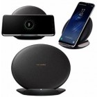 "Originalus ""Samsung"" Fast Charge juodas belaidis įkroviklis (EP-N5100), Qi standartas)"