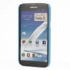 Šviesiai mėlynas plastikinis Samsung Galaxy Note 2 N7100 dėklas (dėkliukas, nugarėlė)