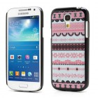 Raštuotas rožinis Samsung Galaxy S4 Mini dėklas