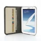 Samsung Galaxy Note 8.0 N5100 (N5110) atverčiamas 360° baltas dėklas - piniginė (dėkliukas)