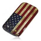 Samsung Galaxy S3 i9300 plastikinis dėklas (dėkliukas, nugarėlė) - JAV vėliava