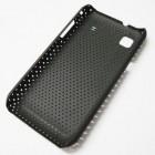 Tinklelio formos juodas Samsung Galaxy S i9000 dėklas (dėkliukas)