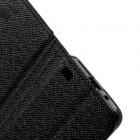 """""""MLT"""" atverčiamas juodas Samsung Galaxy S2 i9100 dėklas (dėkliukas) - knygutė"""