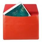 Capdase Universali įmautė, atverčiamas odinis raudonas dėklas kompiuterinėms planšetėms