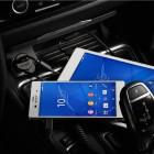 Sony Dual Quick Charger automobilinis įkroviklis AN420 juodas su micro usb laidu (2 x 1800 mah)