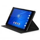 Sony Xperia Z3 Tablet Compact originalus SCR28 atverčiamas juodas dėklas