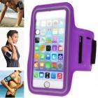 Dėklas sportui (raištis ant rankos) - violetinis, universalus (XL+ dydis)