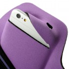 """""""Bubble"""" dėklas sportui (raištis ant rankos) - violetinis, universalus (XL dydis)"""