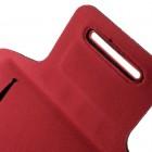 """""""Bubble"""" dėklas sportui (raištis ant rankos) - raudonas, universalus (XL dydis)"""