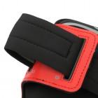 Dėklas sportui (raištis ant rankos) - raudonas, universalus (S dydis)