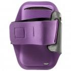 """""""Bubble"""" dėklas sportui (raištis ant rankos) - violetinis, universalus (L dydis)"""