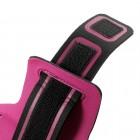"""""""Bubble"""" dėklas sportui (raištis ant rankos) - tamsiai rožinis, universalus (L dydis)"""