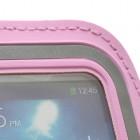 Dėklas sportui (raištis ant rankos) - rožinis, universalus (S dydis)