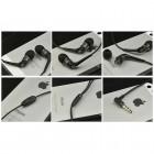 """""""JBM MJ"""" MJ6600 juodos įkišamos į ausis ausinės (laisvų rankų įranga)"""