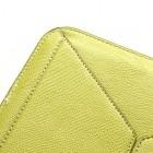 Universali žalia (salotinė) odinė kompiuterinės planšetės įmautė, vokas, 10.1 colių planšetėms