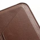 Universali ruda odinė kompiuterinės planšetės įmautė, vokas, 10.1 colių planšetėms